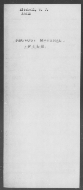 Mitchell, W J - State: [Blank] - Year: [Blank]