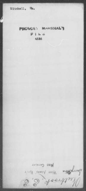 Mitchell, Wm - State: [Blank] - Year: [Blank]