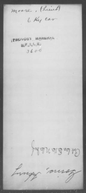 Moore, [Blank] - State: Kentucky - Year: [Blank]