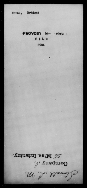Moran, Bridget - State: [Blank] - Year: [Blank]