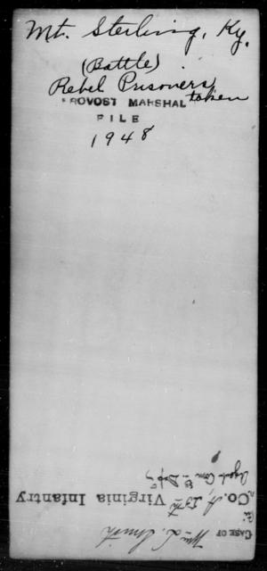 Mount, Sterling - State: Kentucky - Year: [Blank]