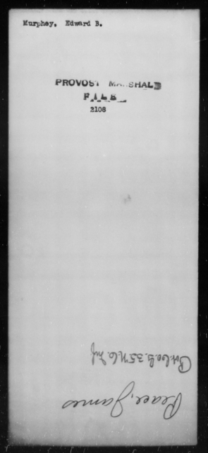 Murphey, Edward B - State: [Blank] - Year: [Blank]