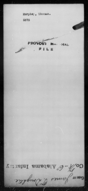 Murphey, Thomas - State: [Blank] - Year: [Blank]