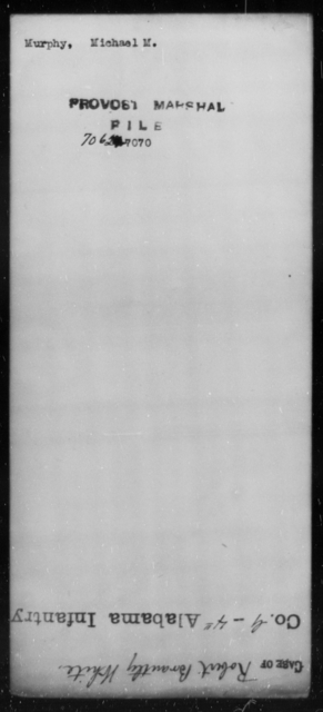 Murphy, Michael M - State: [Blank] - Year: [Blank]