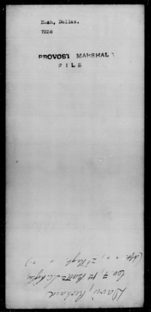Nash, Dallas - State: [Blank] - Year: [Blank]