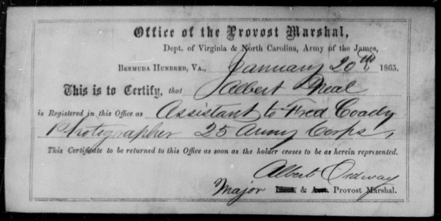 Neal, Albert - State: Virginia - Year: 1863