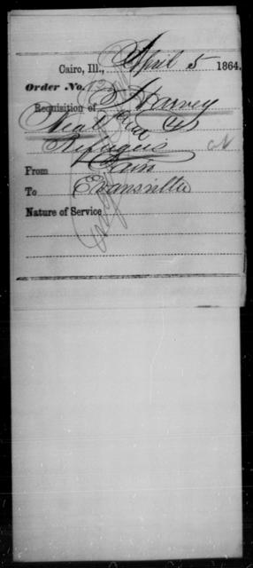 Neal, Harvey - State: Illinois - Year: 1864