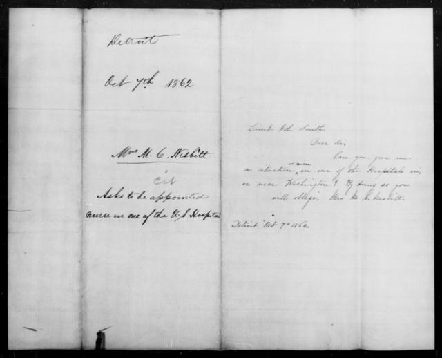 Nesbitt, M C - State: [Blank] - Year: 1862