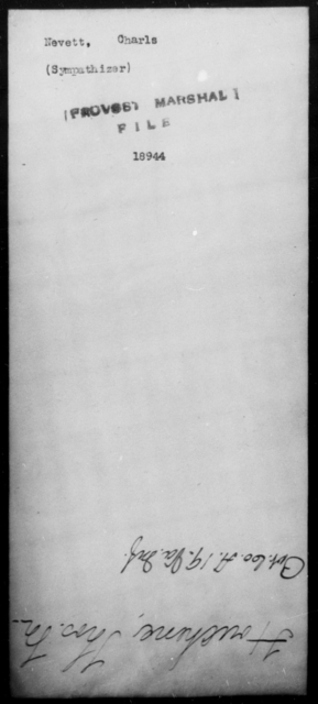 Nevett, Charls - State: [Blank] - Year: [Blank]