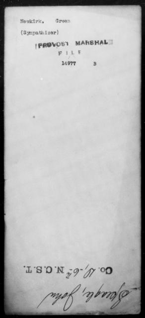 Newkirk, Green - State: [Blank] - Year: [Blank]