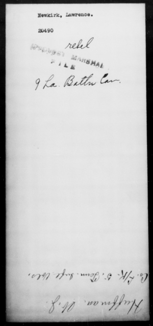 Newkirk, Lawrence - State: Louisiana - Year: [Blank]