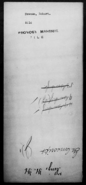 Newman, Robert - State: [Blank] - Year: [Blank]