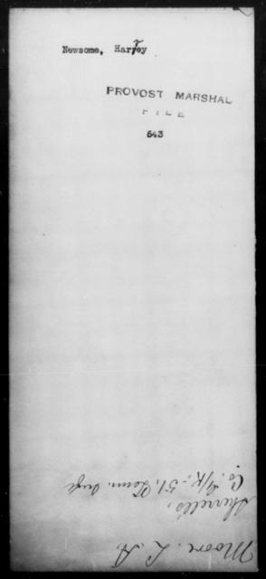 Newsome, Harvey - State: [Blank] - Year: [Blank]