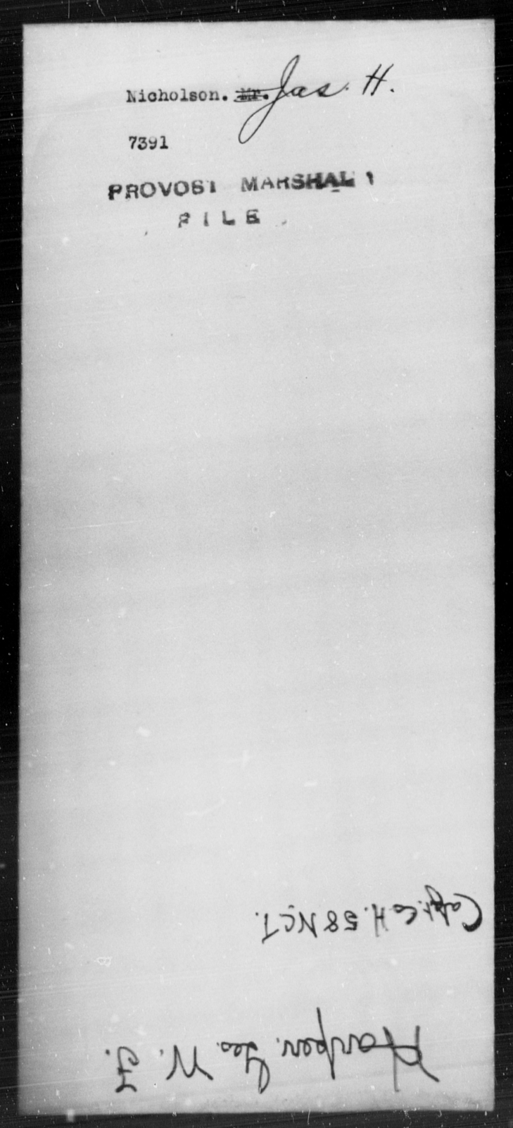 Nicholson, Jas H - State: [Blank] - Year: [Blank]