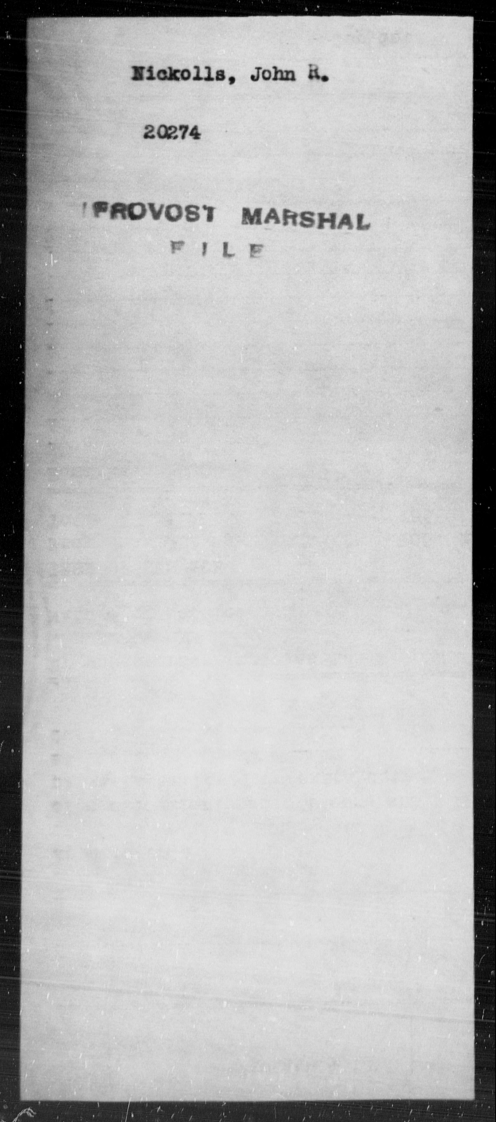 Nickolls, John R - State: [Blank] - Year: [Blank]