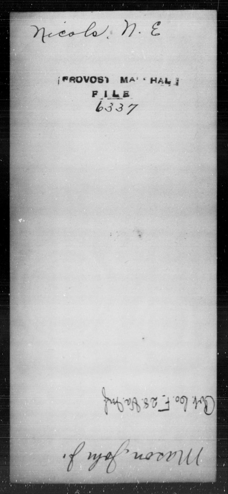 Nicols, N E - State: [Blank] - Year: [Blank]
