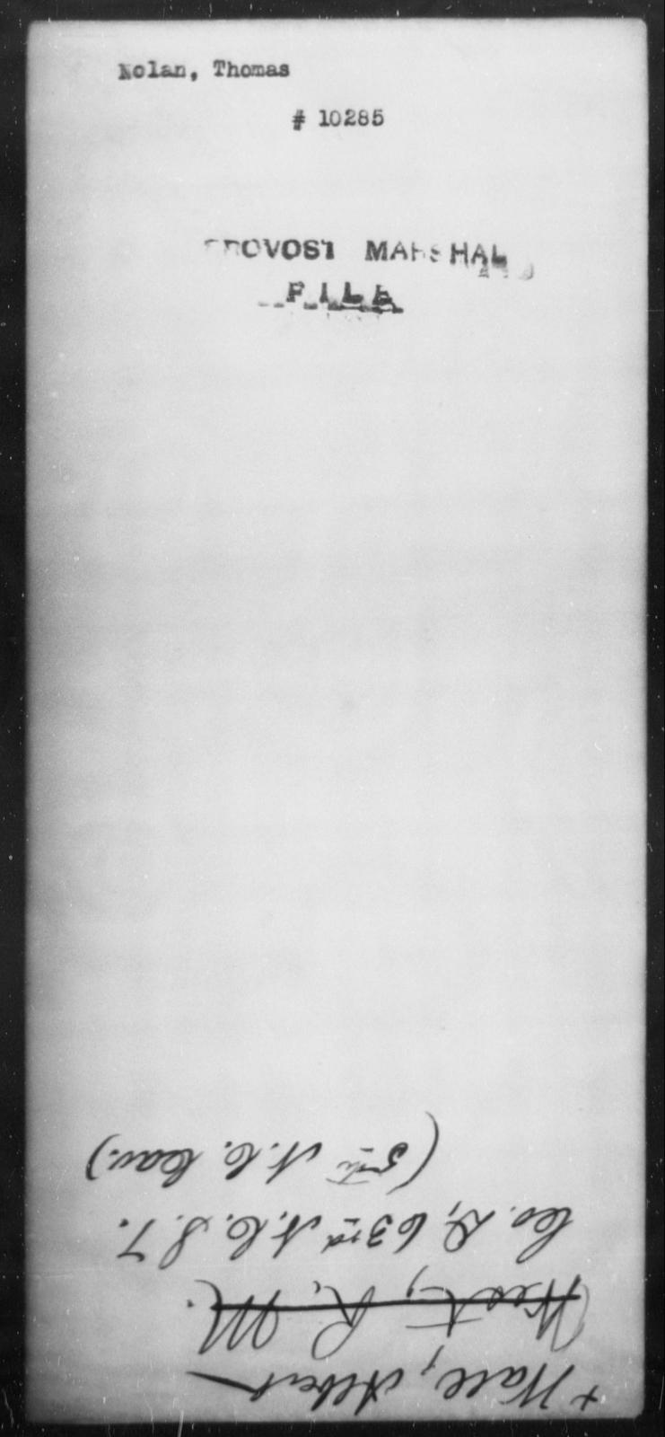 Nolan, Thomas - State: [Blank] - Year: [Blank]