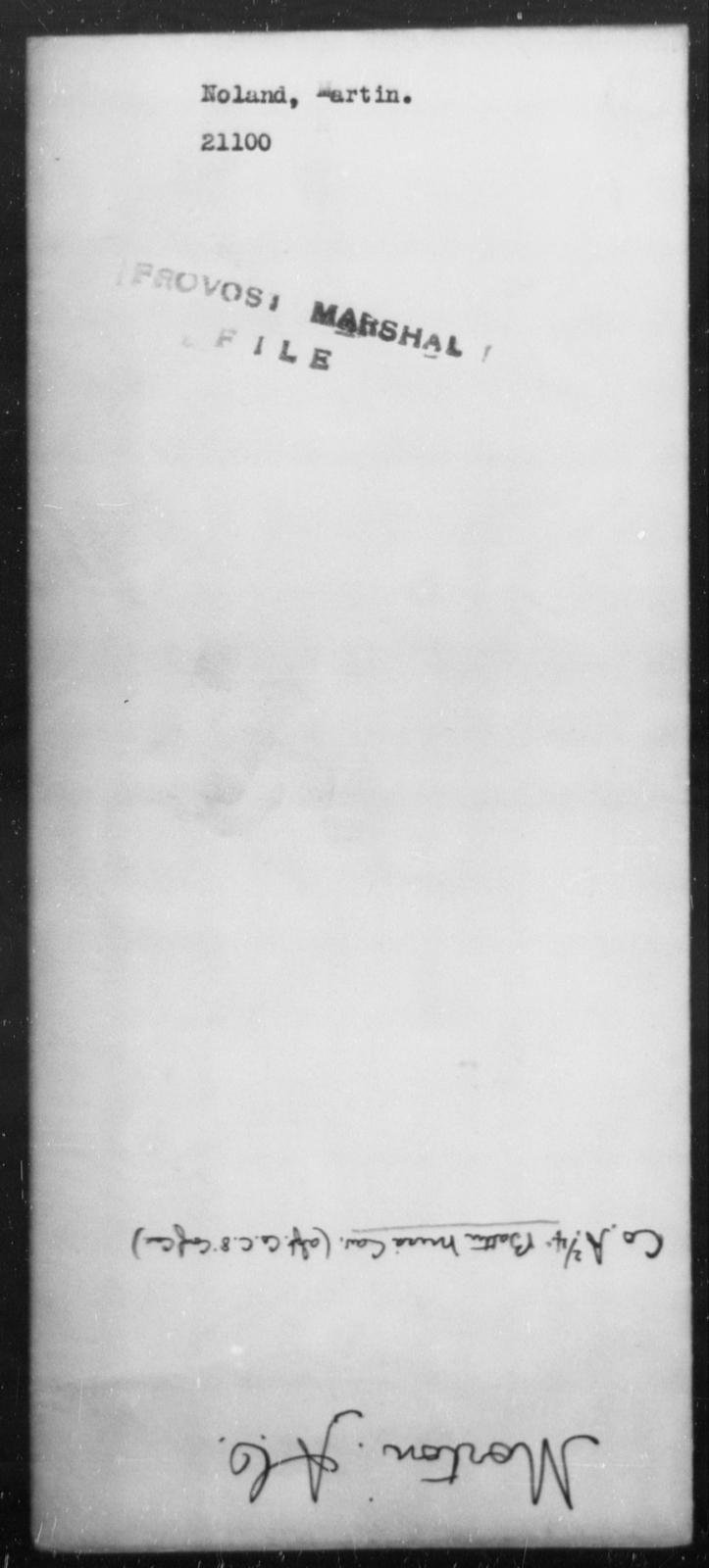 Noland, Martin - State: [Blank] - Year: [Blank]
