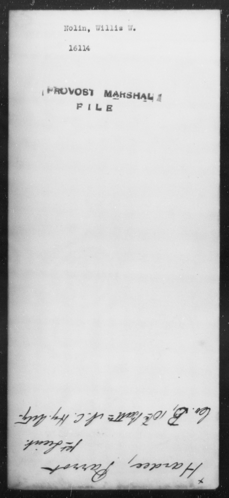 Nolin, William W - State: [Blank] - Year: [Blank]