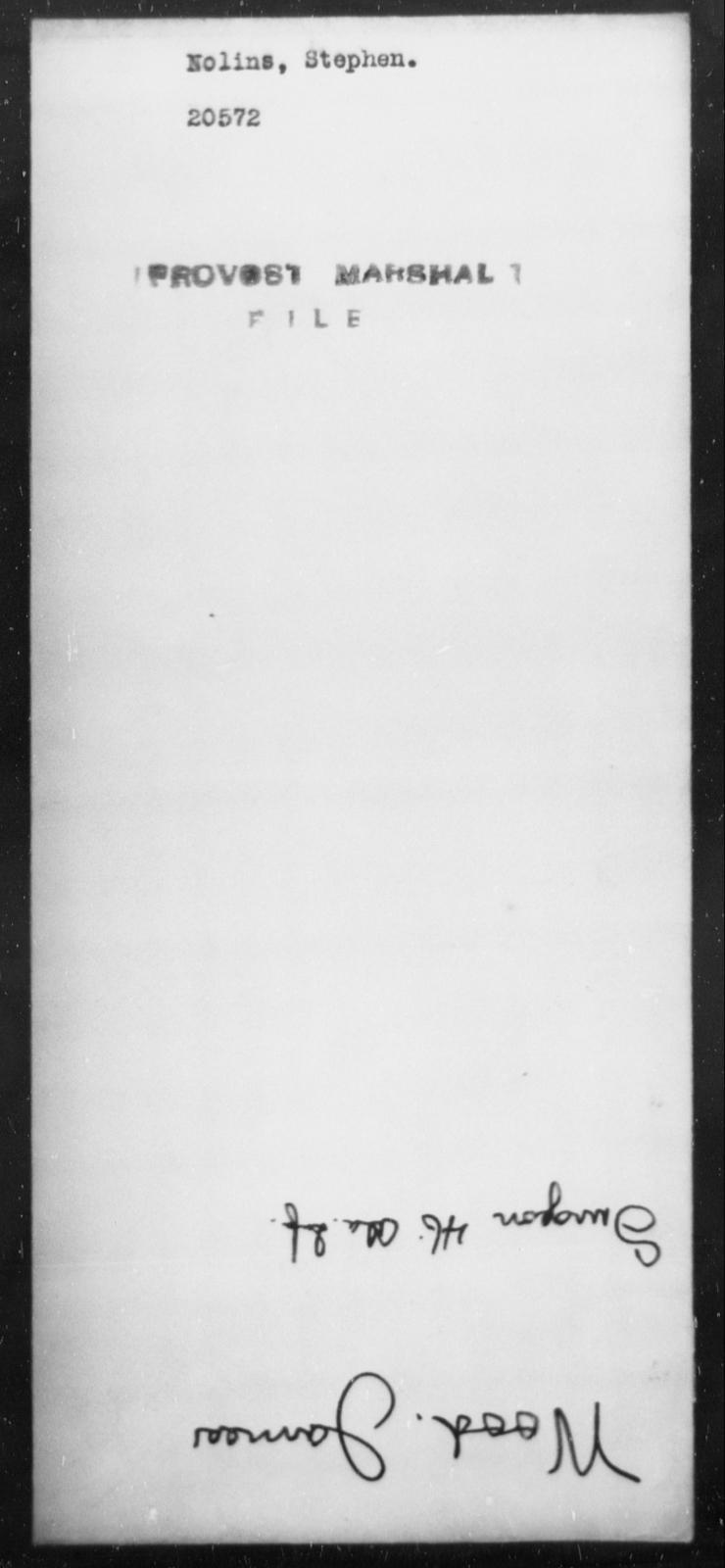 Nolins, Stephen - State: [Blank] - Year: [Blank]
