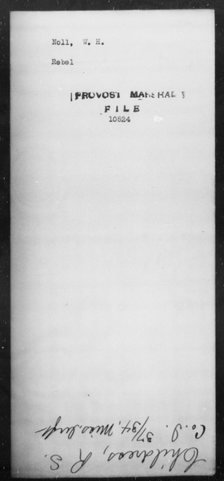 Noll, W H - State: [Blank] - Year: [Blank]