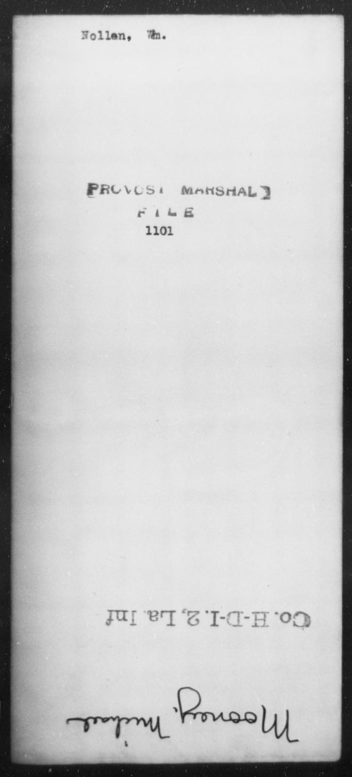 Nollen, Wm - State: [Blank] - Year: [Blank]