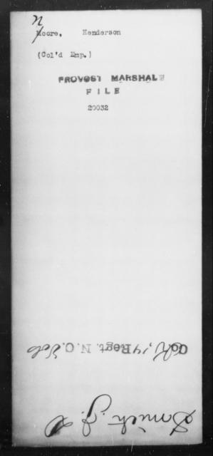 Noore, Henderson - State: [Blank] - Year: [Blank]