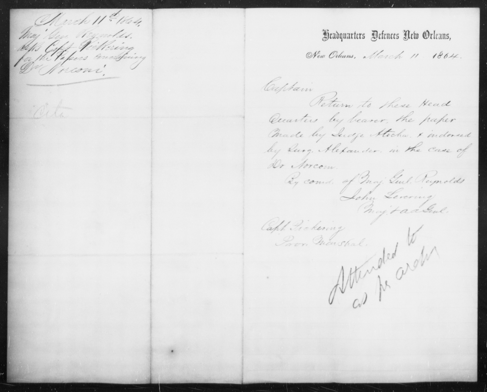 Norconi, [Blank] - State: [Blank] - Year: 1864