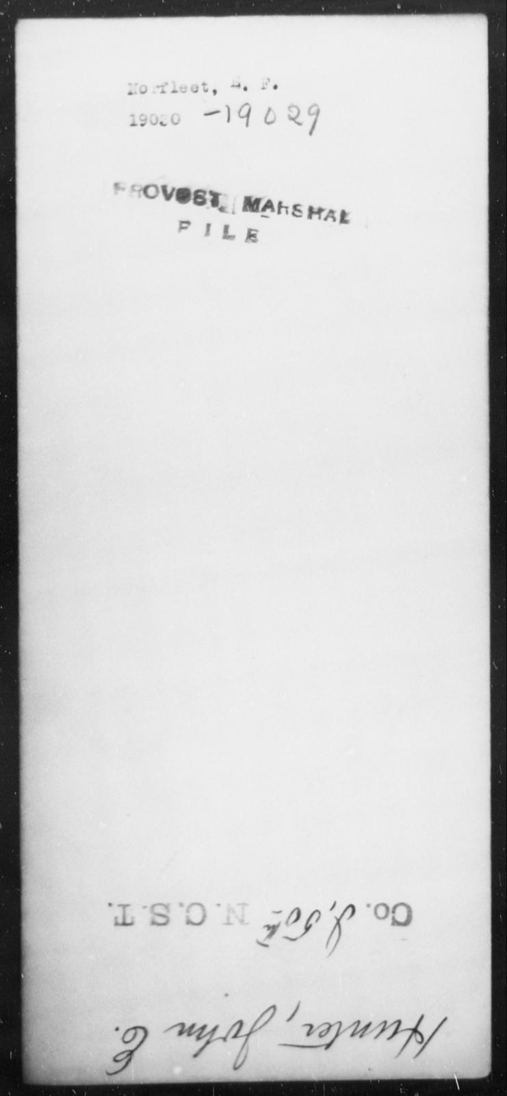 Norfleet, E F - State: [Blank] - Year: [Blank]