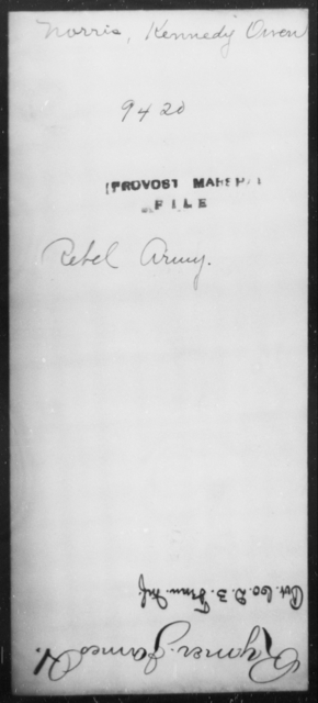 Norris, Kennedy - State: [Blank] - Year: [Blank]