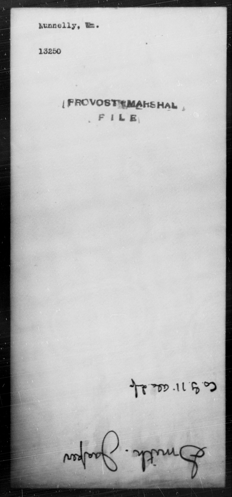 Nunnelly, Wm - State: [Blank] - Year: [Blank]