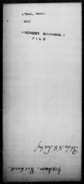 O'Neal, Hamon - State: [Blank] - Year: [Blank]