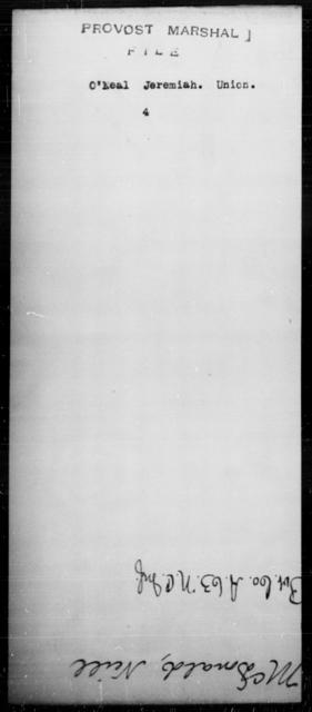 O'Neal, Jeremiah - State: [Blank] - Year: [Blank]