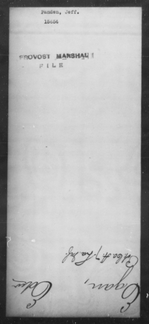 Panden, Jeff - State: [Blank] - Year: [Blank]