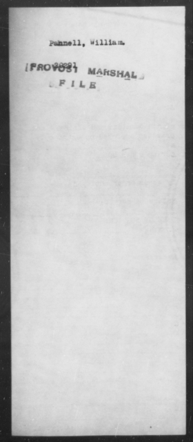 Pannell, William - State: [Blank] - Year: [Blank]