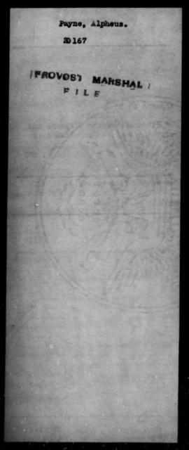 Payne, Alpheus - State: [Blank] - Year: [Blank]