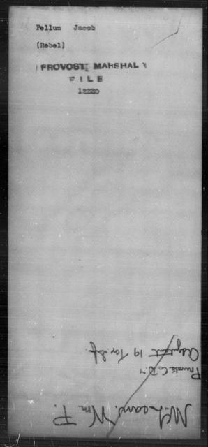 Pellum, Jacob - State: [Blank] - Year: [Blank]