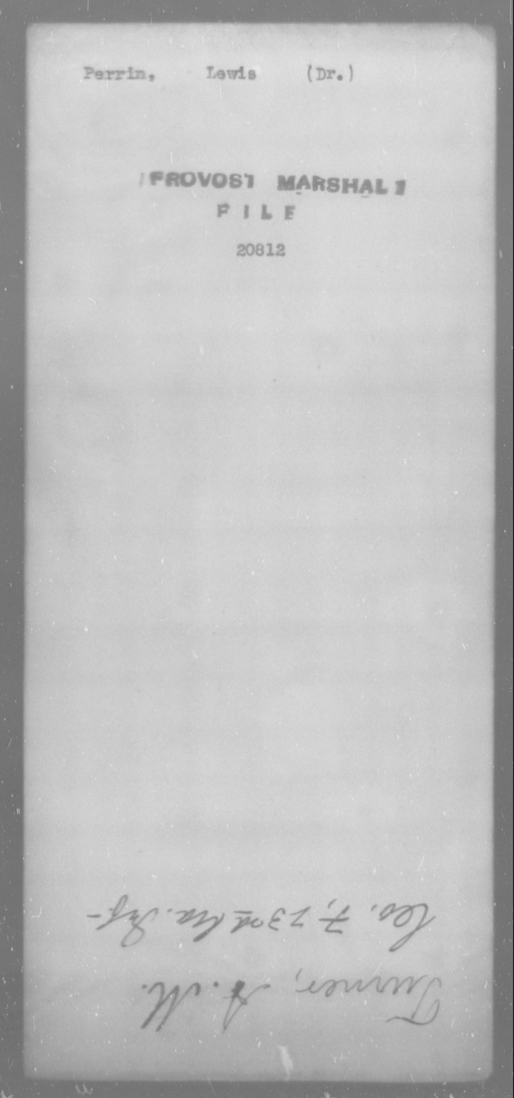 Perrin, Lewis - State: [Blank] - Year: [Blank]