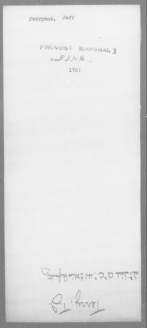Perryman, Jeff - State: [Blank] - Year: [Blank]