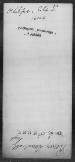 Philips, Eli T - State: [Blank] - Year: [Blank]