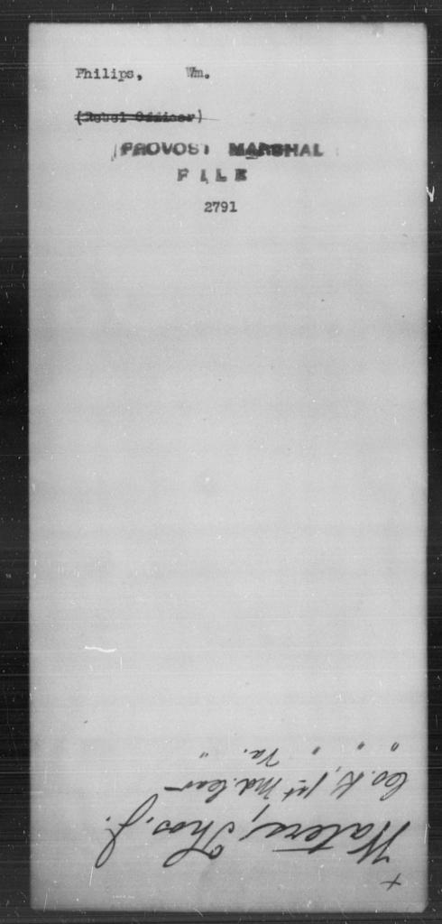 Philips, Wm - State: [Blank] - Year: [Blank]