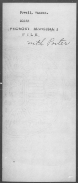 Powell, Ranson - State: [Blank] - Year: [Blank]