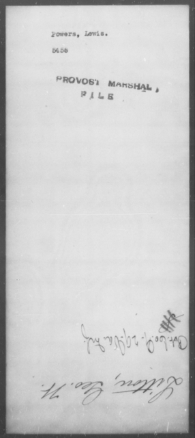 Powers, Lewis - State: [Blank] - Year: [Blank]