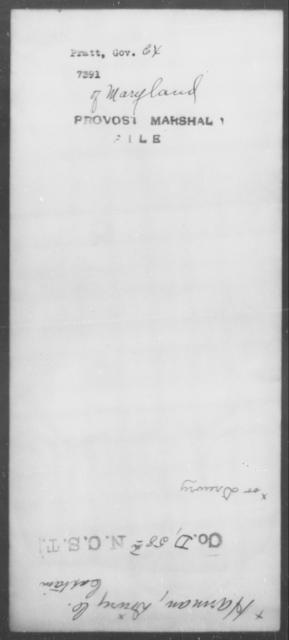 Pratt, [Blank] - State: Maryland - Year: [Blank]
