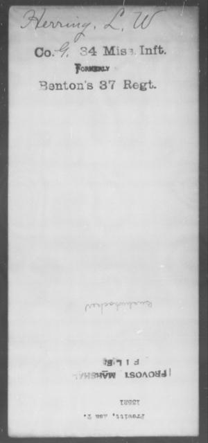 Prewitt, Asa T - State: [Blank] - Year: [Blank]