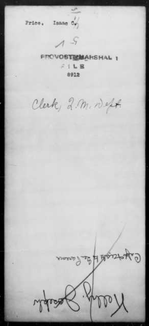 Price, Isaac C - State: [Blank] - Year: [Blank]