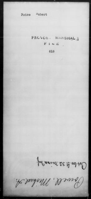 Price, Robert - State: [Blank] - Year: [Blank]