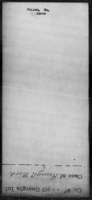 Pullum, Wm - State: [Blank] - Year: [Blank]