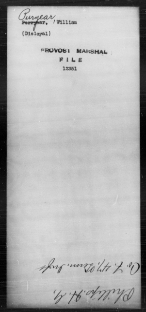 Puryear, William - State: [Blank] - Year: [Blank]