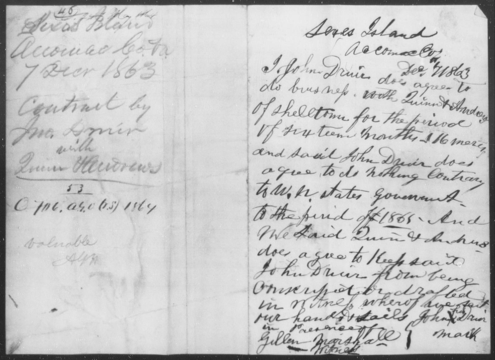 Quinn, [Blank] - State: Virginia - Year: 1863
